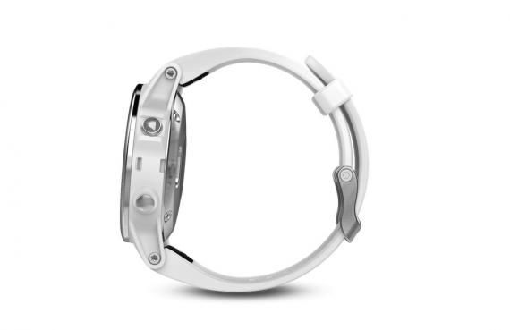fēnix® 5S White with Carrara White Band, Worldwide
