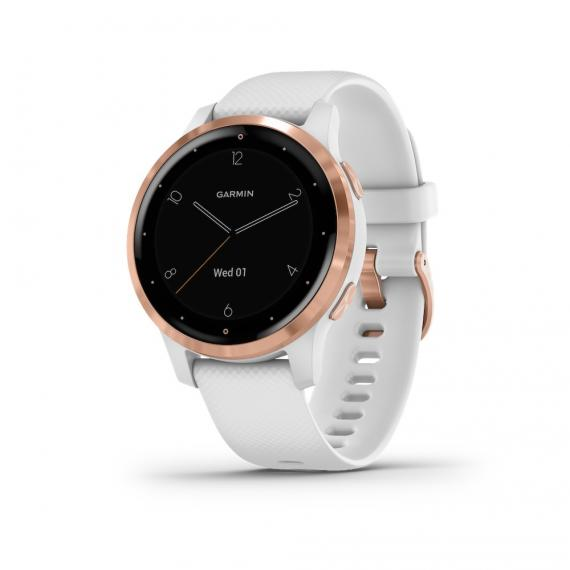 vívoactive® 4S, White with Rose Gold Hardware